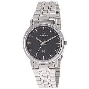 Maxima Attivo Analog Black Dial Men's Watch - 08464CMGI