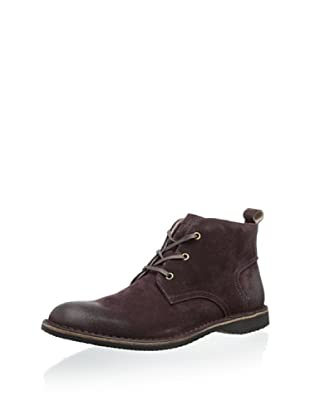 Andrew Marc Men's Dorchester Chukka (Oxblood)