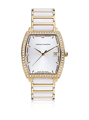 Chrono Diamond Reloj con movimiento cuarzo suizo Woman 10310D Leandra 32.0 mm