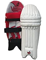 Vsp Ensign Batting Pads, Boys', (White)
