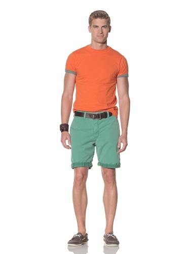 Tailor Vintage Men's Reversible Short (Kiwi/Plaid)