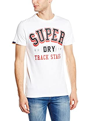 Superdry T-Shirt Manica Corta College Arch Entry-Tee