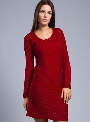 Cortefiel Vestido (Rojo)