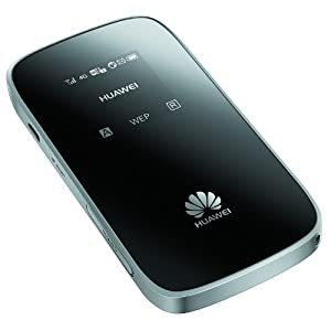 Huawei LTE New Model E589 Mobile WIFI Router DL 100Mbps (SIM Free)-Black