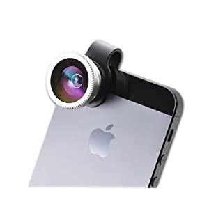 Universal Clip Fish Eye Telephoto Lens for iPhone 6 / iPhone 6 Plus / iPhone 5 / iPhone 5S / Samsung galaxy Note 4 / Samsung galaxy Note Edge / Samsung galaxy S5 / HTC One M8 / HTC One Max / Sony Xperia Z3 / Sony Xperia Z2