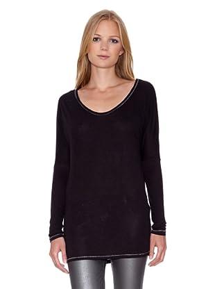 Mila Brant Camiseta Zina (Negro)