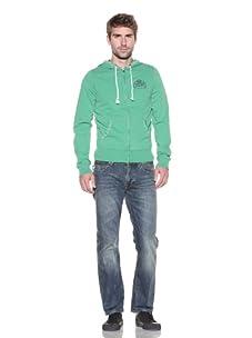 Z Brand Men's Zip-Up Hoodie (Green App)