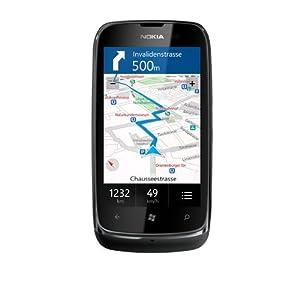 Nokia Lumia 610 8GB Smartphone-Black