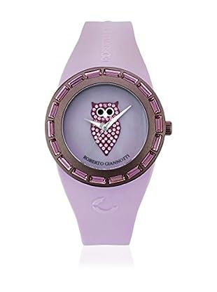 ROBERTO GIANNOTTI Reloj de cuarzo Woman I Misteri Della Notte Time Lila 37 mm