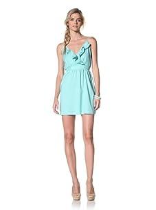 Luna  Women's Olivia Ruffle Dress (Mint)