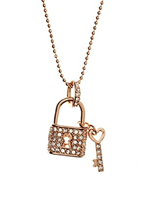 MUSAVENTURA Collar  Lock Gold Transparente