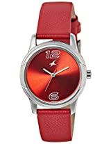 Fastrack Sport Analog Red Dial Women's Watch - 6099SL03