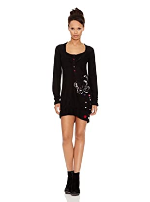 Desigual Vestido Night (Negro)