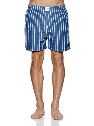 Abercrombie & Fitch Boxershorts (weiß / blau)