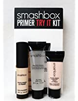 SMASHBOX Photo Finish Foundation Lid & Hydrating Under-Eye Primer Trio - TRY IT KIT