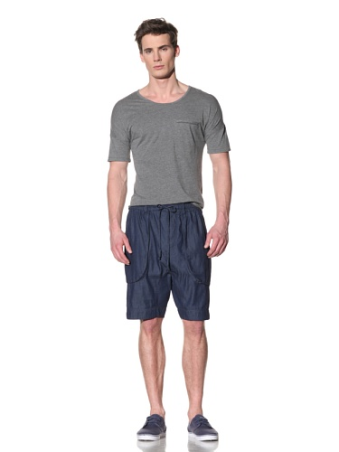 Fremont Men's Eding Pocket Three Quarter Sleeve Shirt (Grey)