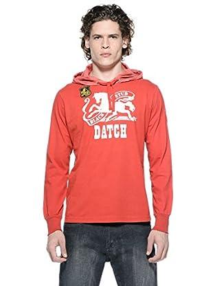 Datch Camiseta Manga Larga (Rojo)