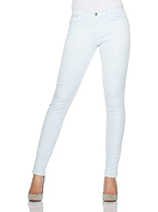 7 for all mankind Jeans The Skinny Colored Gummy (Sky Grey)