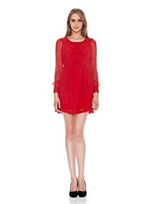 Pepe Jeans London Vestido Sharon (Rojo)