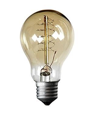 LO+DEMODA Glühbirne Edison Vintage 32Clear A19 E27 40W Cristal transparente