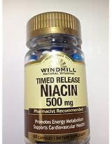 NIACIN S/R CAPS 500 MG WMILL Size: 60