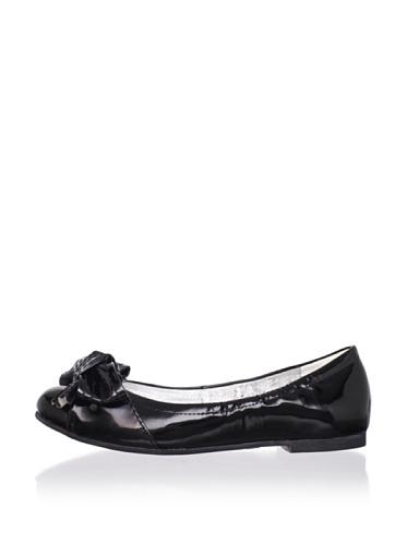 Venettini Kid's Drama Shoe (Toddler/Little Kid/Big Kid) (Black Patent)