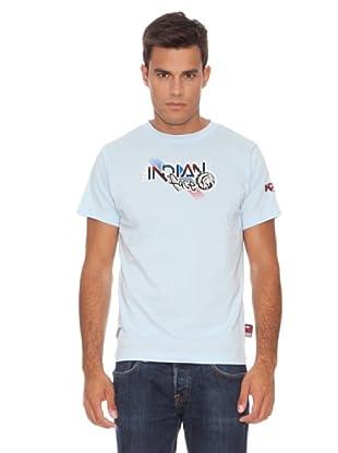 The Indian Face Camiseta Básica (Azul Claro)