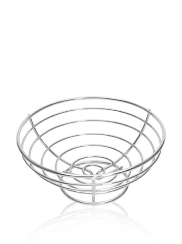 BergHOFF Cook & Co Fruit Basket, Silver