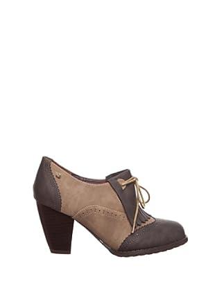 Mustang Zapatos Vestir (Chocolate/Madera)