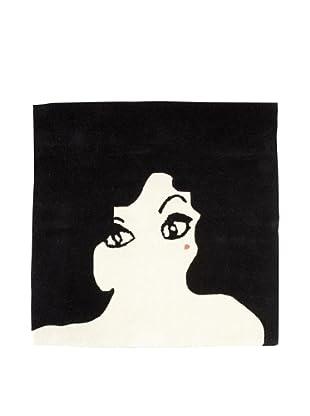 Twinkle Living Glamour Girl Rug (Black)