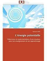 L Energie Potentielle
