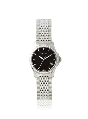 Gucci Women's YA126507 G-Timeless Diamond Black MOP Watch