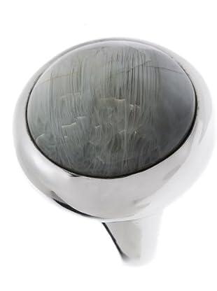 Luxenter 5767765 - Anillo Soenie de plata (gris)