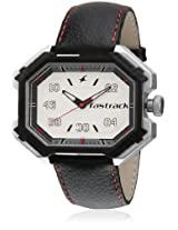 3100Sl04-Dc645 Black/White Analog Watch Fastrack