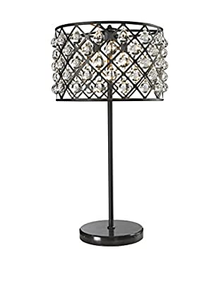 CDI Furniture Spencer 3-Light Table Lamp, Black
