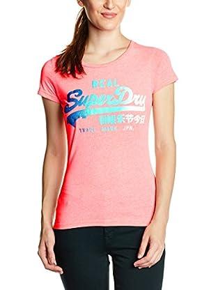 Superdry T-Shirt Vintage Logo Glitter Side Fade Entry