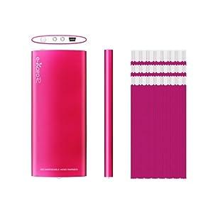 【クリックで詳細表示】ELAICE エレス e-KairoR イーカイロ アール USB充電式カイロ ピンク: ホーム&キッチン