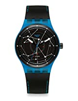 Swatch Sistem 51 SUTS401 Black Round Dial Analogue Watch - For Men