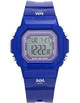 Kool Kidz Rectangular Digital Blue Unisex Watch - DMK-015-BL01