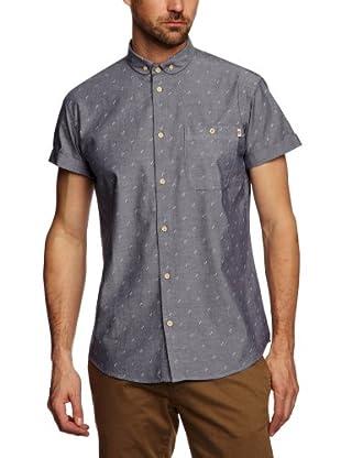 Farah 1920 Camisa Tegan (Azul Oscuro)