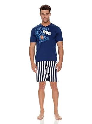 Bluedreams Pijama Caballero (Marino)