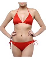 N Gal Red Women Swimwear NY3048