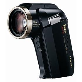 SANYO フルハイビジョン デジタルムービーカメラ Xacti (ザクティ) DMX-HD2000 ブラック DMX-HD2000