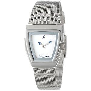 Fastrack Upgrades Analog White Dial Women's Watch - NE6021SM02
