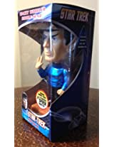 Funko Star Trek's DOCTOR SPOCK Talking 6 Wacky Wobbler METALLIC CHASE PIECE