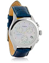 T2N233 Blue/Silver Chronograph Watch Timex