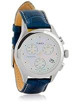 T2N233 Blue/Silver Chronograph Watch Timex