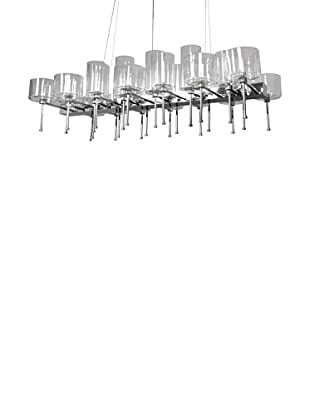 Control Brand The Ostersund Chandelier, Chrome