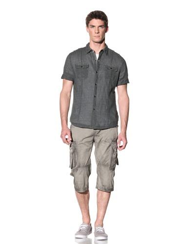 Rogue Men's Overdyed Short Sleeve Woven (Black)