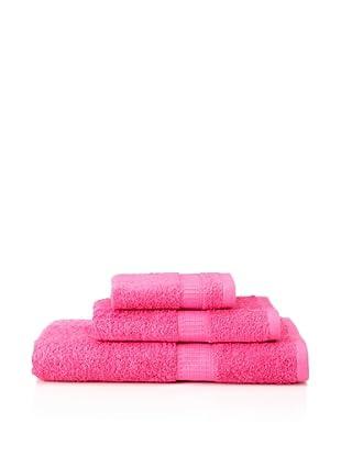 Tommy Hilfiger 3-Piece Towel Set (Positano Pink)